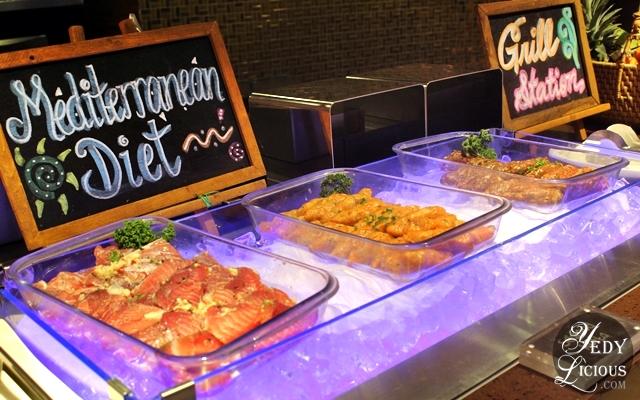Grill Station Mediterrananean Choices at NIU by Vikings Buffet