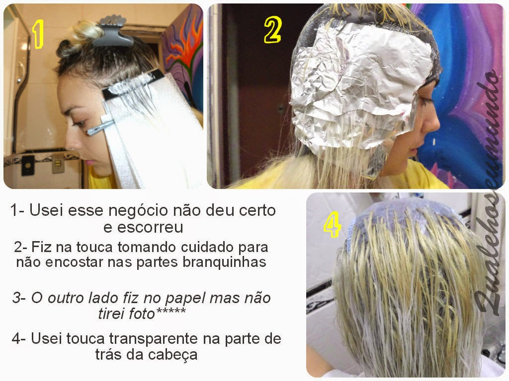 descolorir o cabelo
