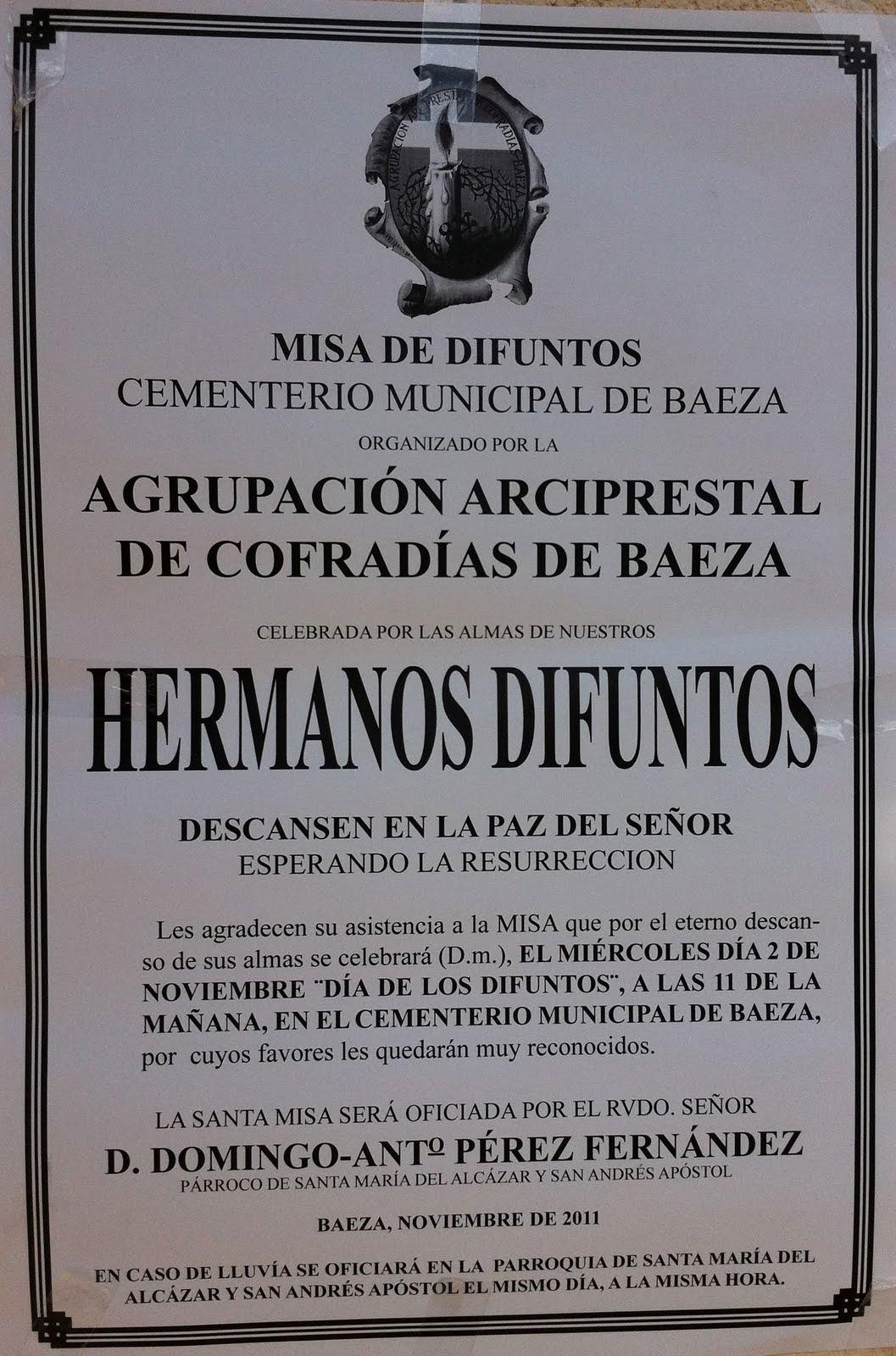MISA DE DIFUNTOS