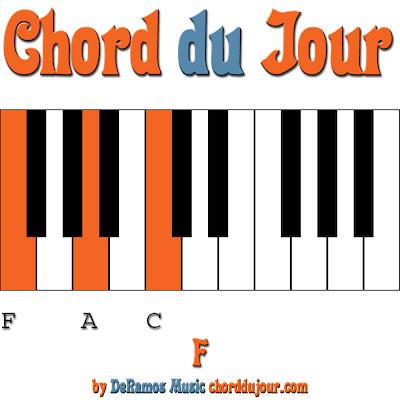 Chord Du Jour F Chord Piano