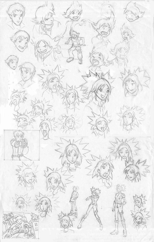 Etude style Manga