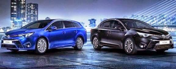 Yeni Avensis fuara geliyor
