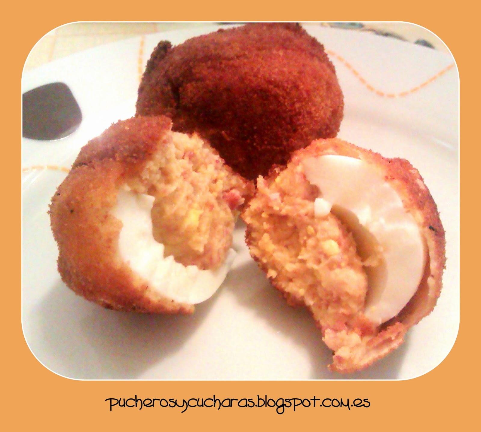 Huevos empanados