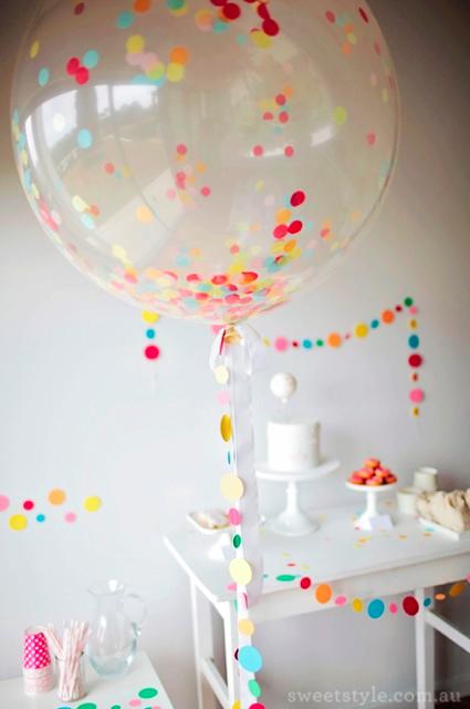 Decoraci n de fiestas con globos - Bombas para decorar ...