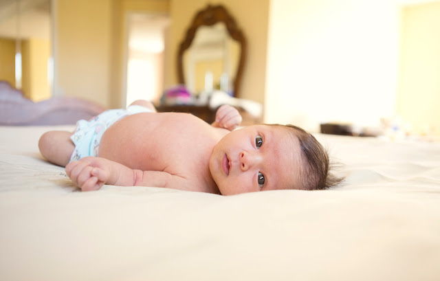 Boca Raton newborn lifestyle photography in South Florida