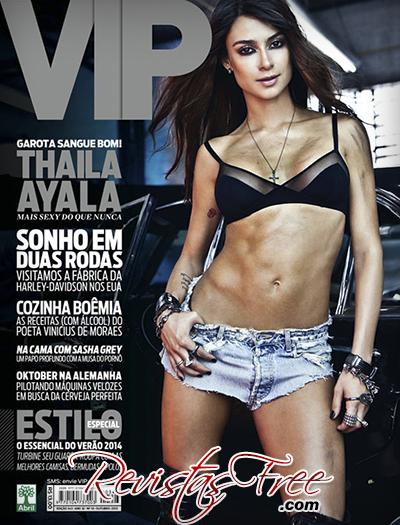 Thaila Ayala - Revista Vip - Outubro 2013