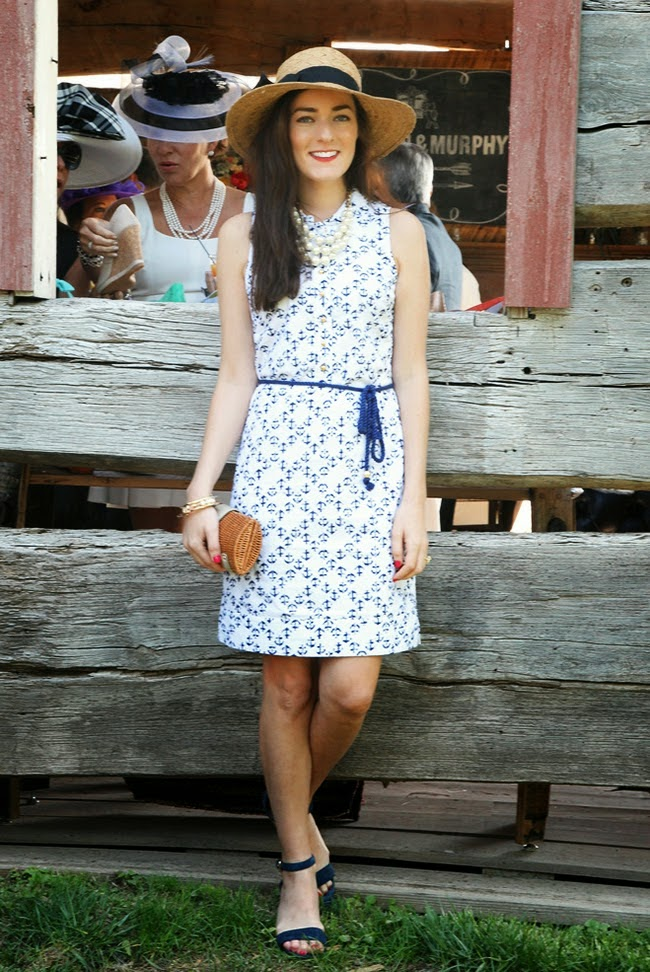 outfit inspiration, blogger style, Classy Girls Wear Pearls, Sarah Vickers, prep, feminine