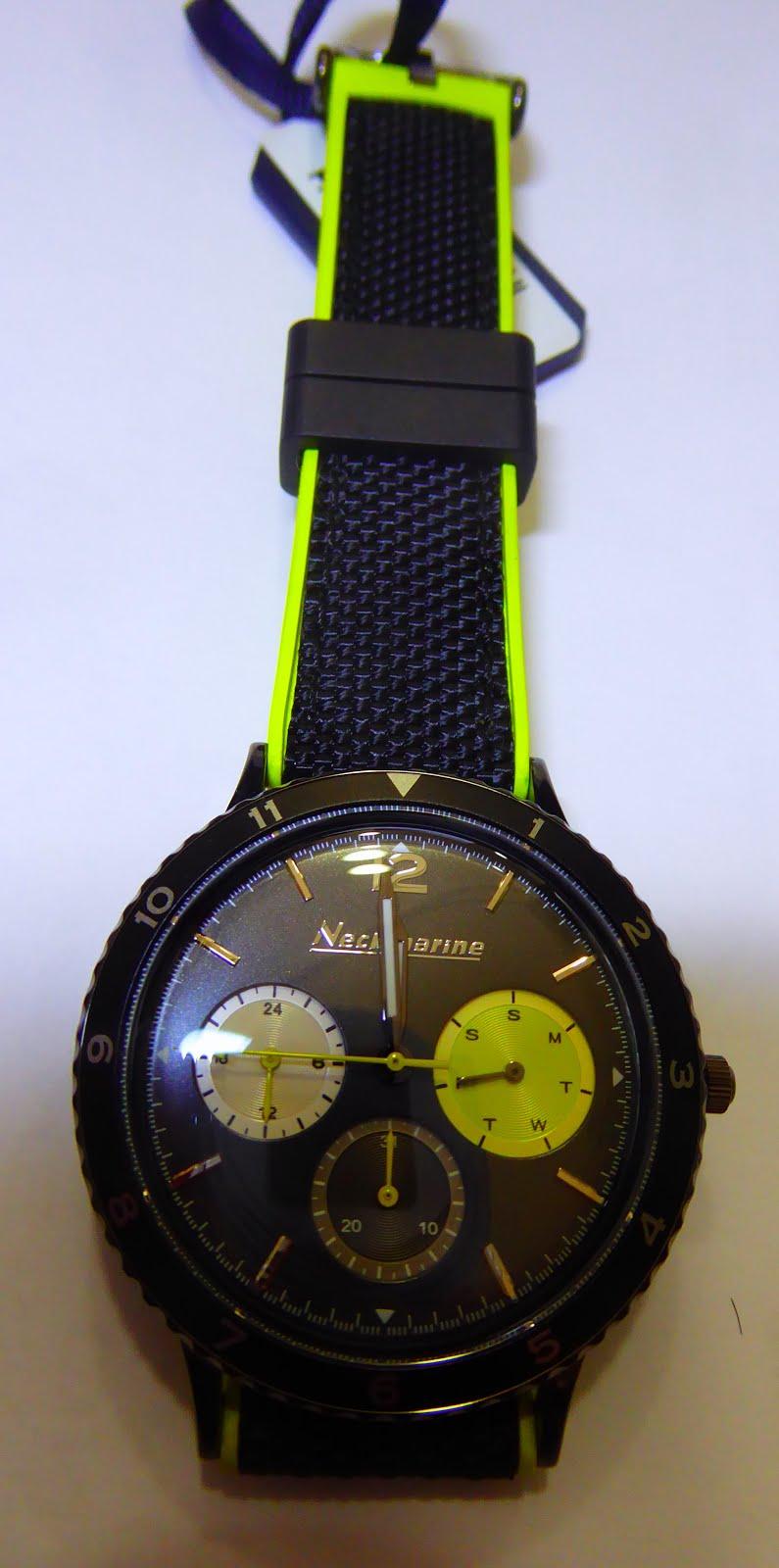 Nuevo reloj  Neckmarine, reloj acuático, con diseño elegante