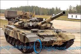 Tank T-90 Russia