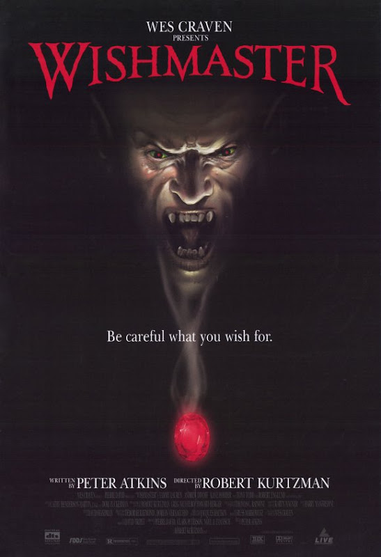 Wishmaster movie poster