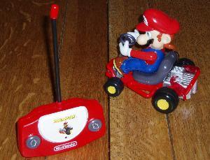 Mario remote control car.