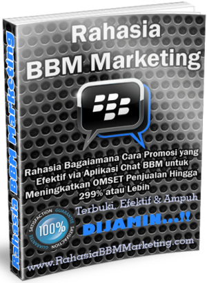 Rahasia BBM Marketing