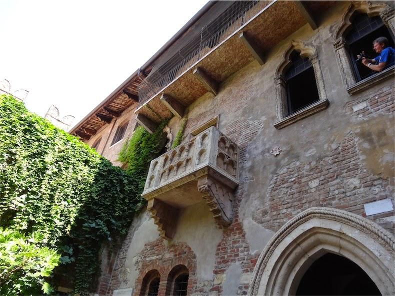 balcón casa de Julieta