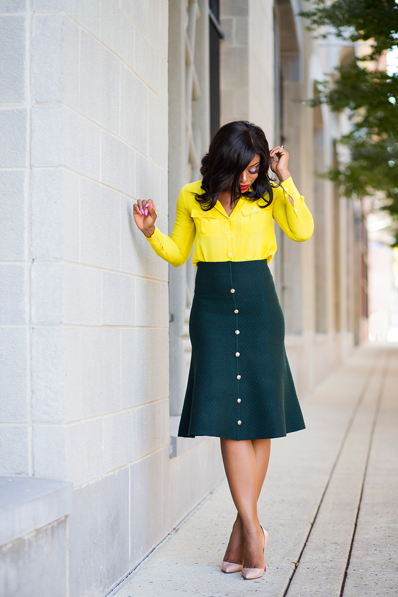 work style on how to mix colors