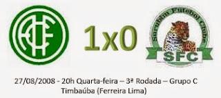 Campeonato Pernambucano Série A2: América vence lanterna da chave