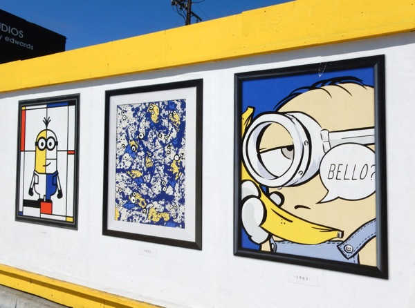 Minions famous artists homage posters