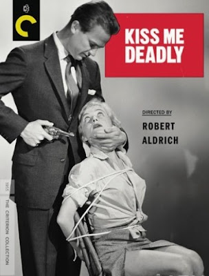 Kiss Me Deadly, dvd, blu-ray, box, art