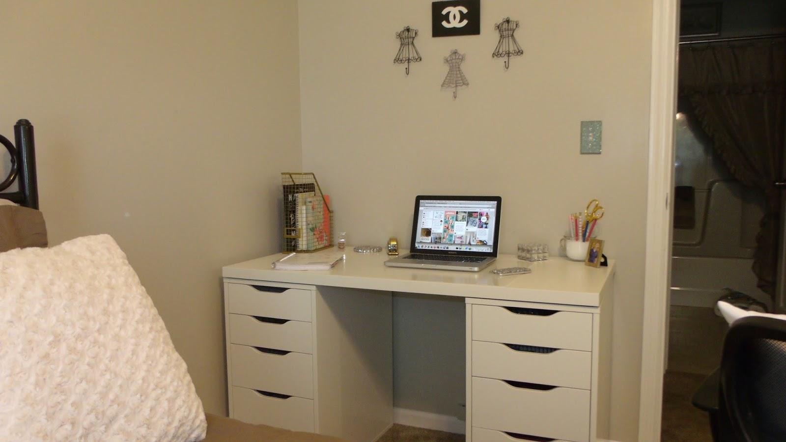 Little Bits Of Lacey Ikea Alex Desk My Dream Workspace