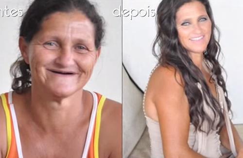 A transformação dessa mulher prova que NÃO existe mulher feia