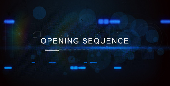 VideoHive Digital Techno Opening Title