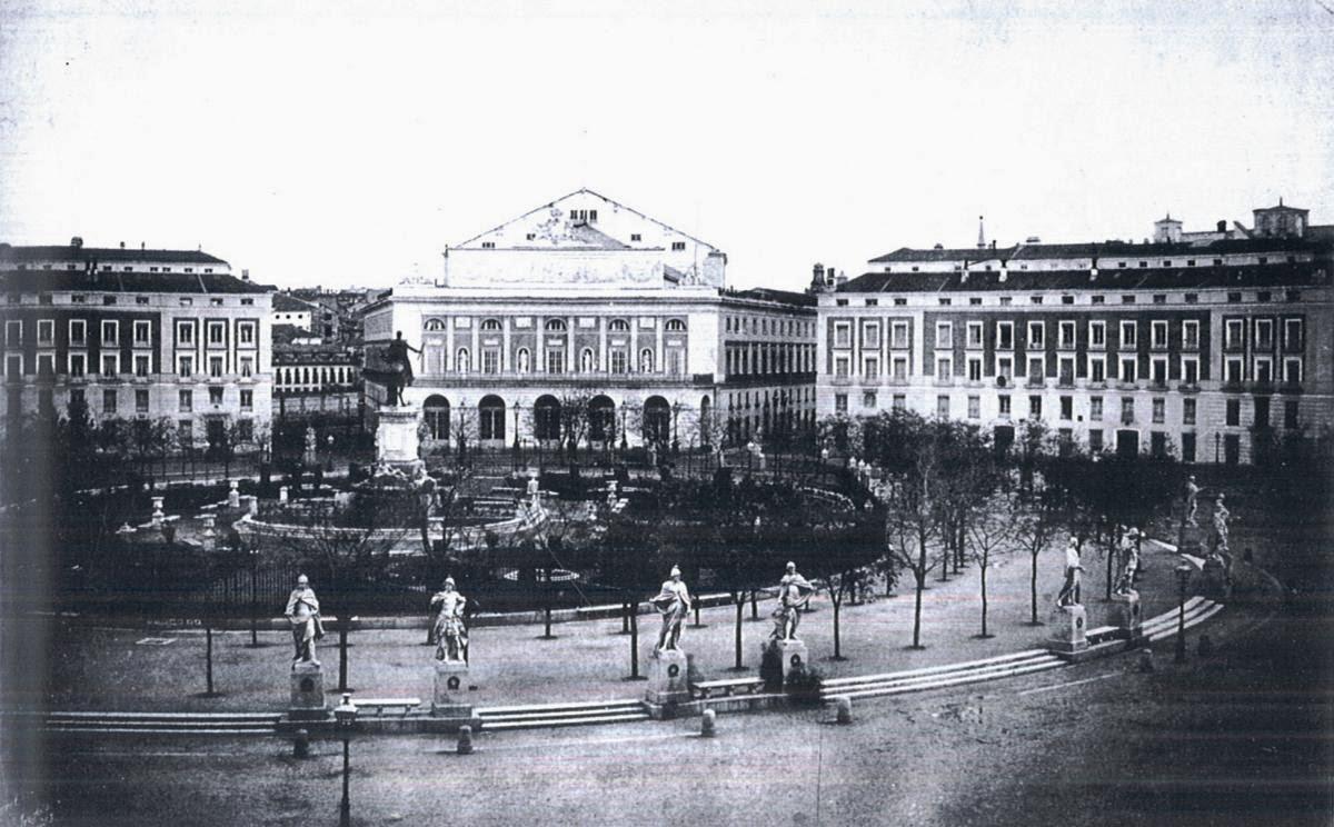 PLAZA DE ORIENTE | Manuelblas.Madrid