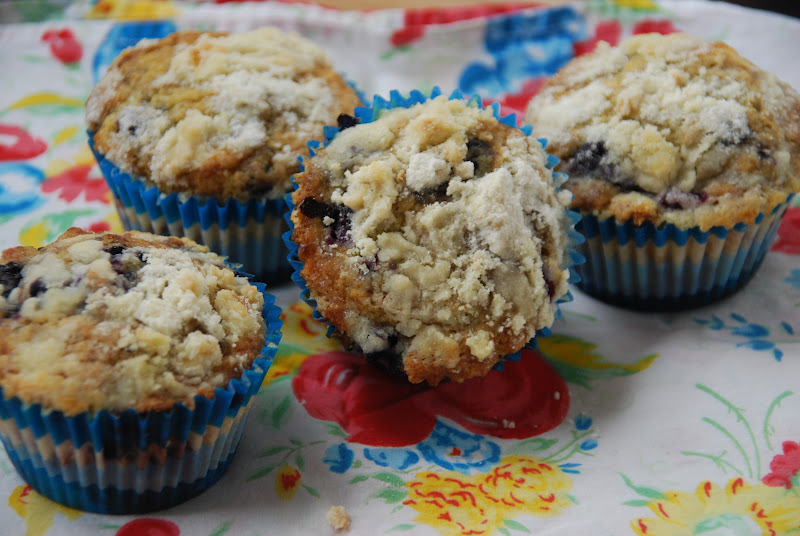 ... Creating with Avril: Brown Butter Blueberry White Chocolate Muffins