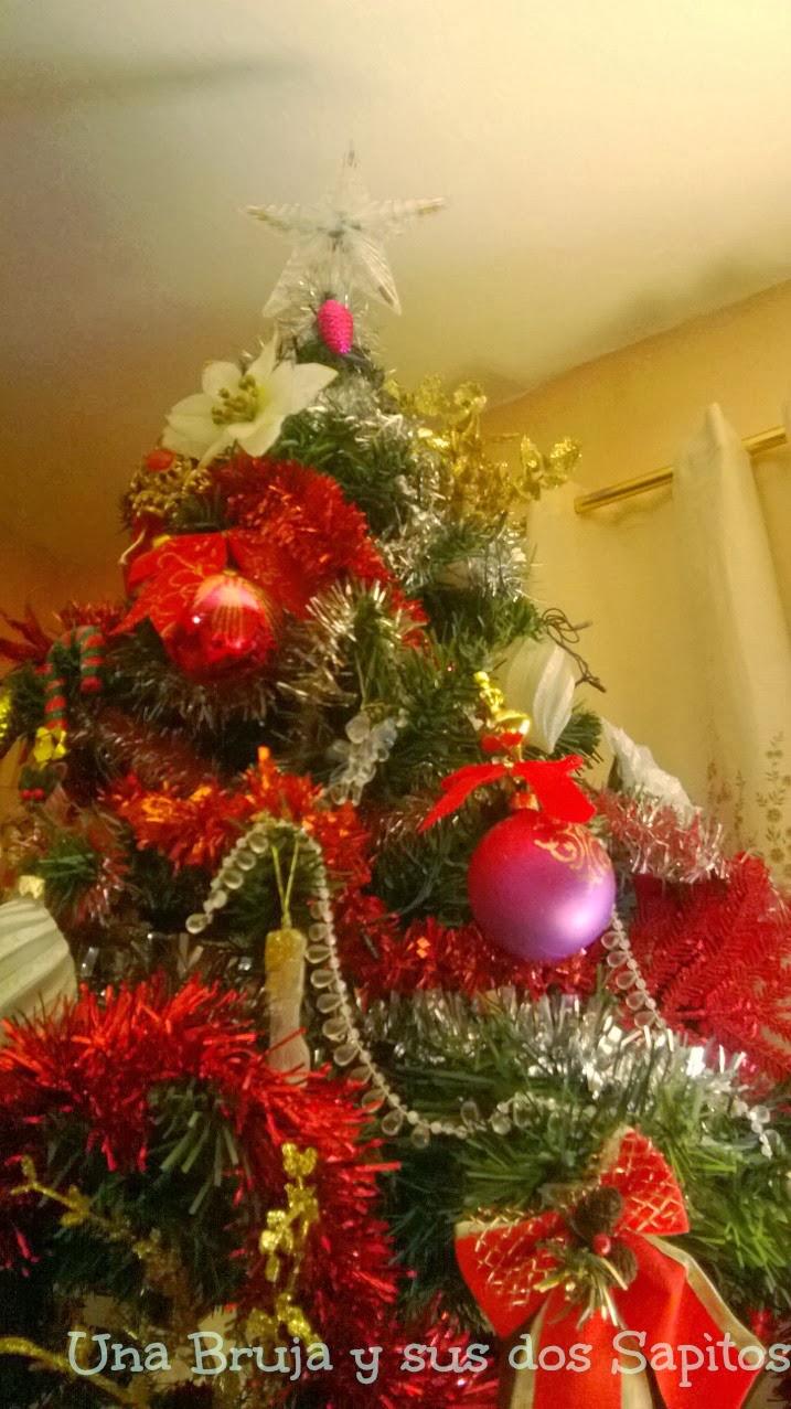 Una bruja y sus dos sapitos mi rcoles mudo decoraci n - Decoracion navidena 2013 ...