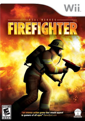 Box art for Wii version of Real Heroes: Firefighter