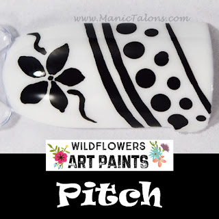 Wildflowers Nail Art Paint Pitch