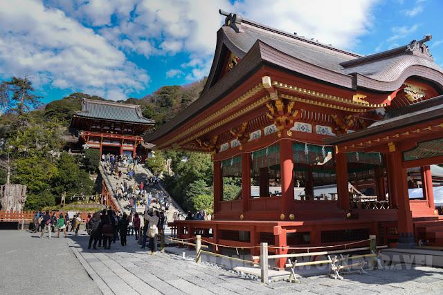 鐮倉鶴岡八幡宮, kamakura