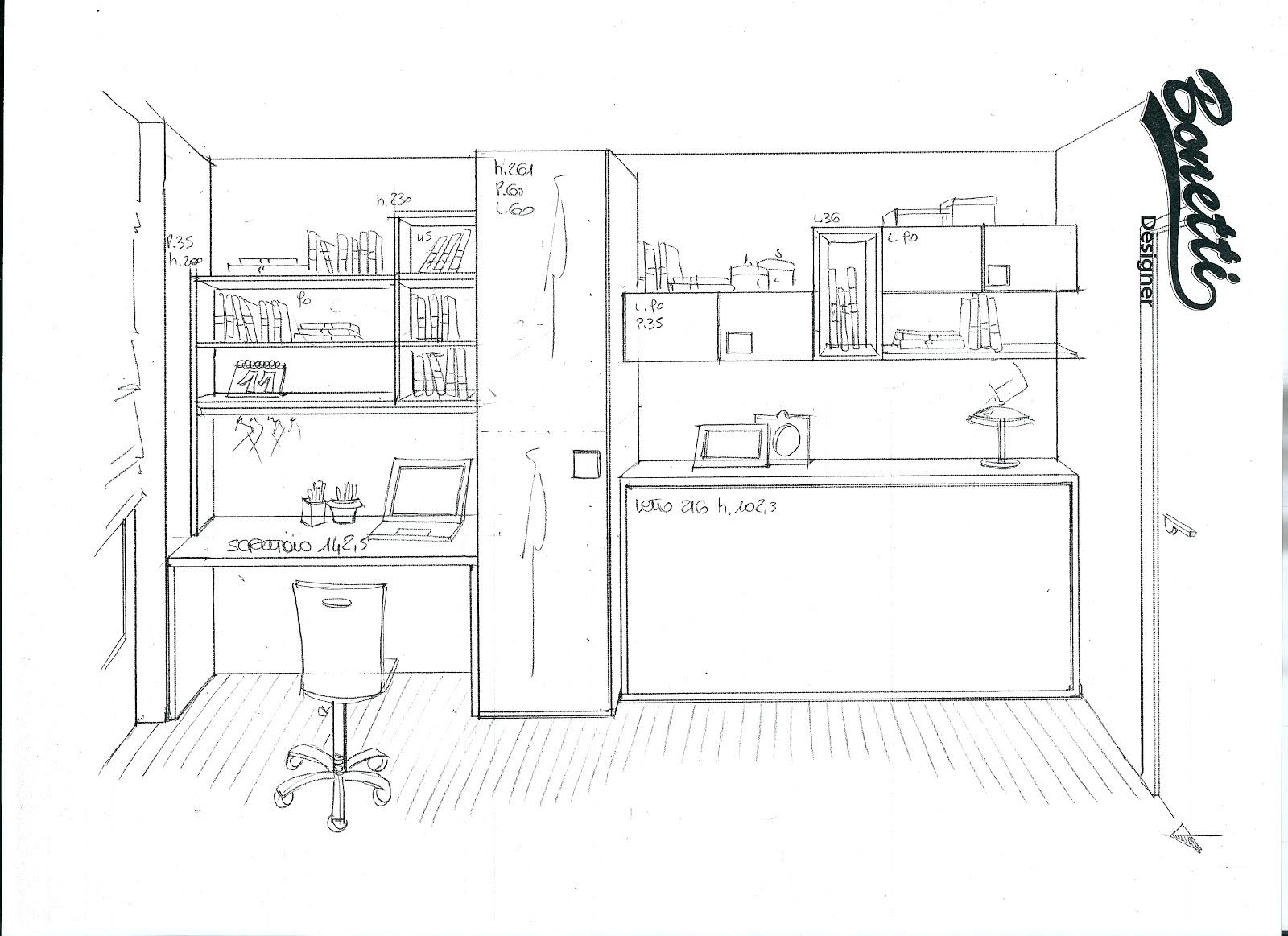 Bonetti camerette bonetti bedrooms aprile 2013 for Progettare un layout di una stanza online gratuitamente