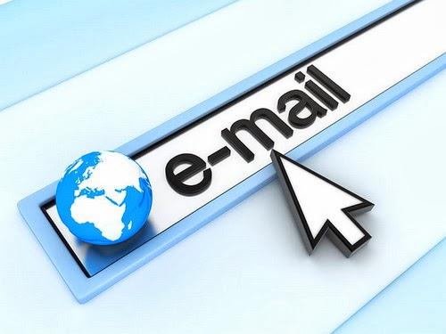 Mendaftarkan email untuk e-billing Indovision tiap bulan.