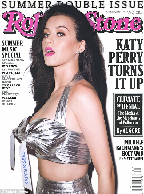 Katy Perry's Rolling Stone Magazine Cover. Posted by M. at 8:30 AM