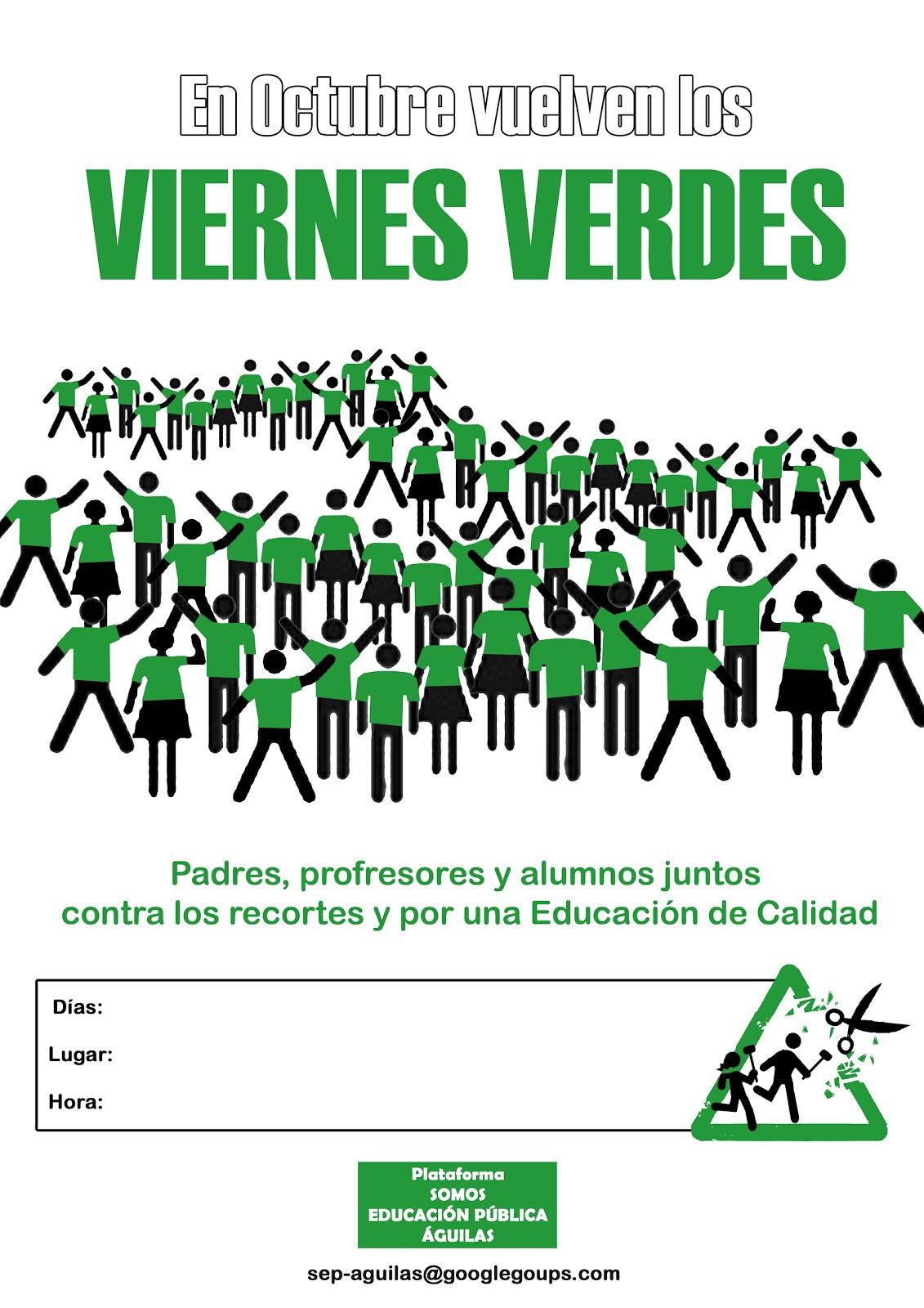 Águilas Radio 91.4 fm: Se reanudan los Viernes Verdes