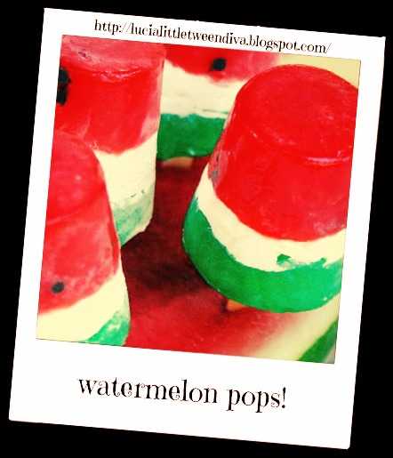 Lucia's Little Tween Diva Blog ♥: watermelon nails and diy ...