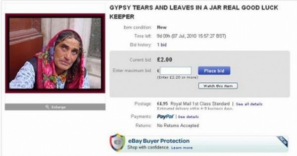 Funny eBay Auctions