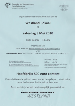 Flyer Westland Bokaal 2020