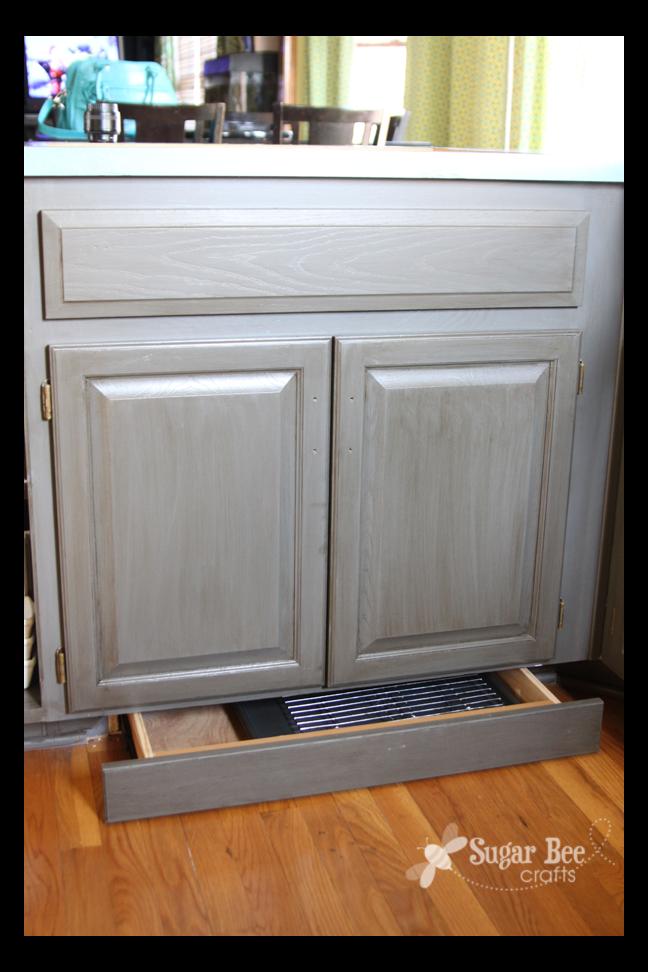 Kitchen Cabinet - Reveal!! (thanks Rustoleum!) - Sugar Bee Crafts