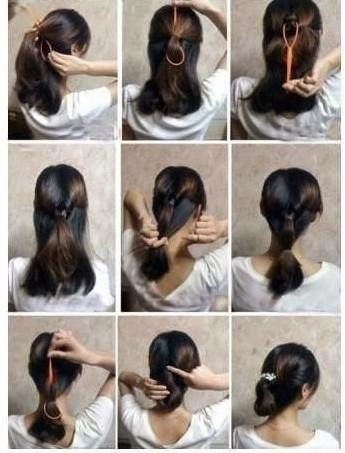Quick And Easy DIY Hairstyle