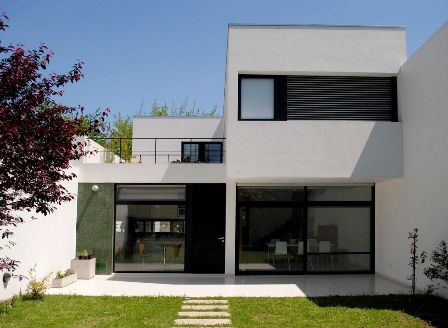 tampak depan rumah minimalis desain rumah minimalis