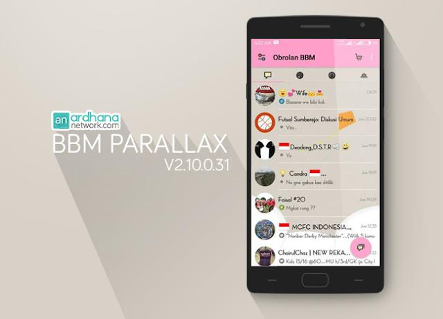 BBM Parallax - Ardhananetwork