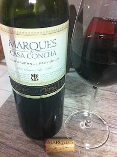 vinho, tinto, cabernet sauvignon, Marques, Casa Concha, Concha y Toro, chileno