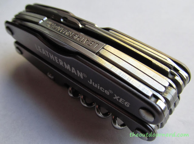 Leatherman Juice XE6 Multi-Tool: Closeup Top