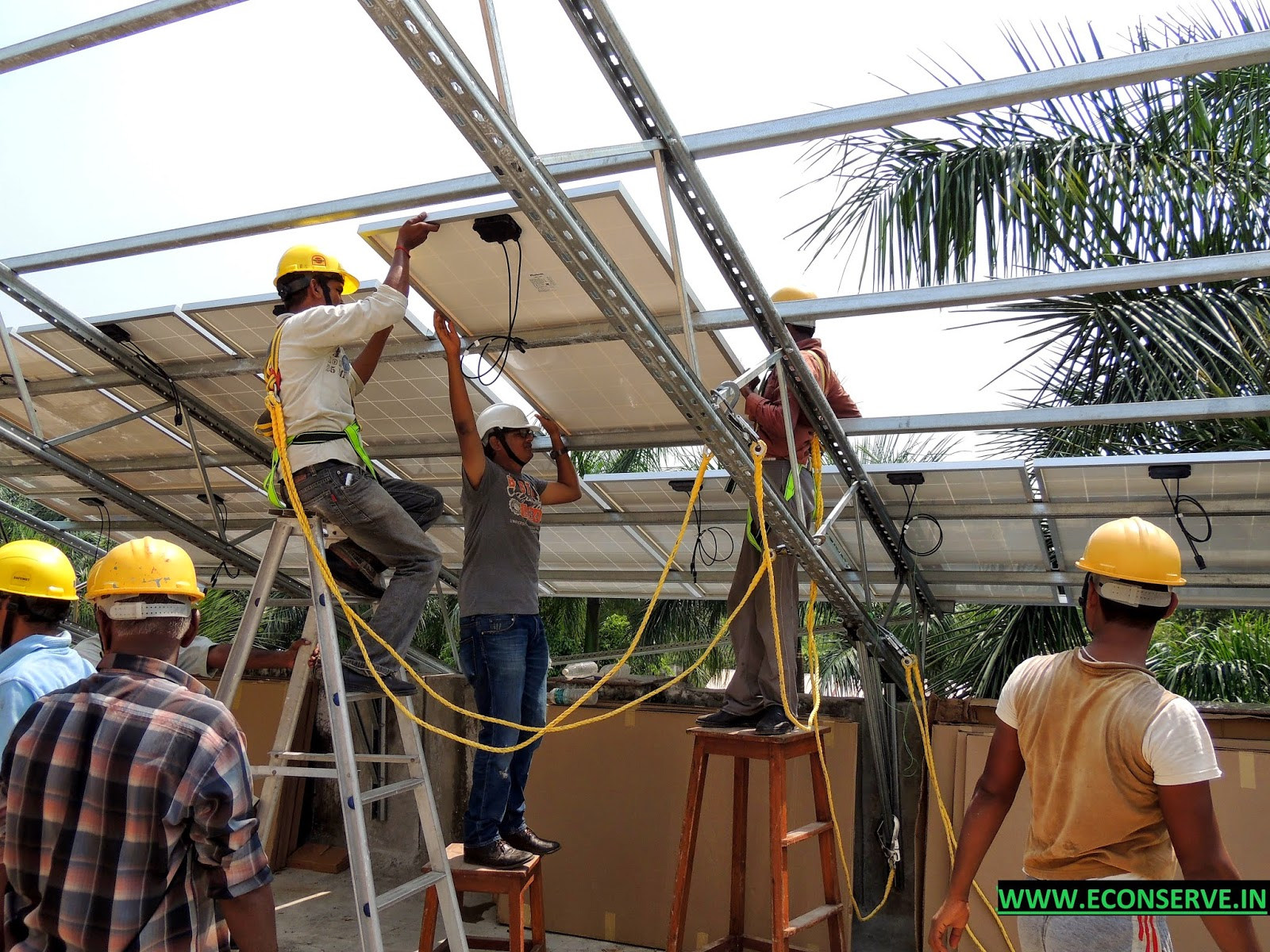 Solar Energy Rooftop PV Solar Project