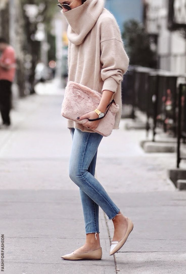 blush oversized sweater