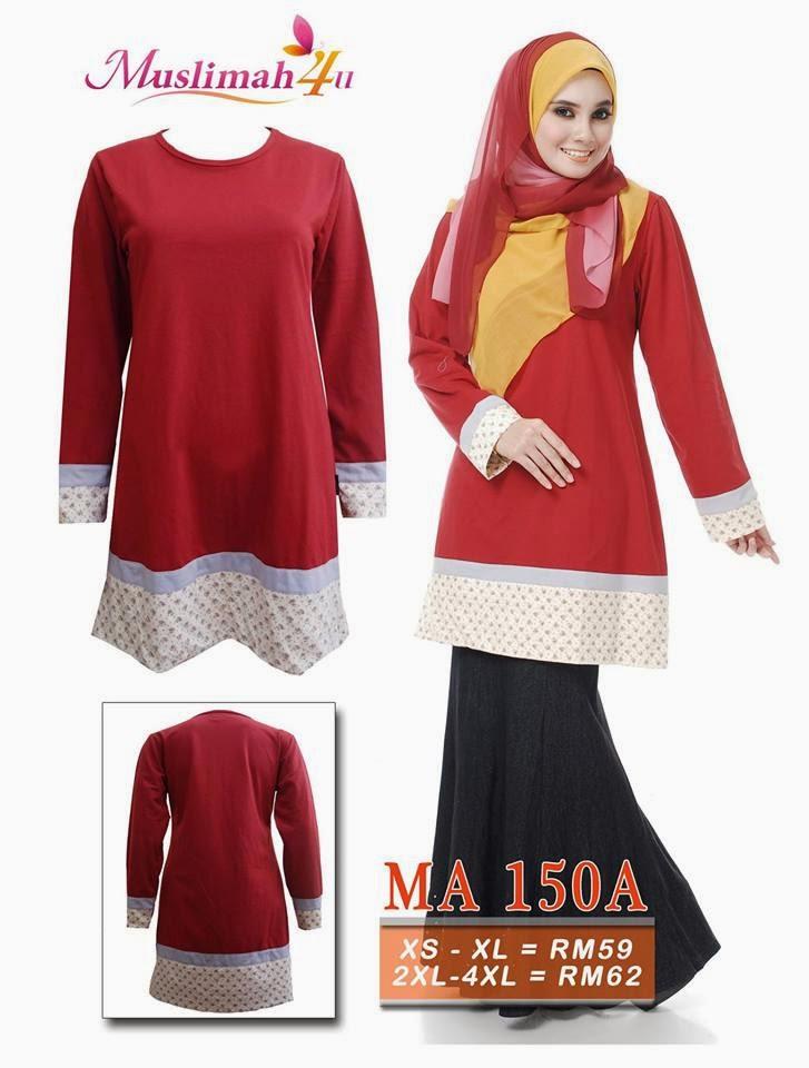 T-shirt-Muslimah4u-MA150A