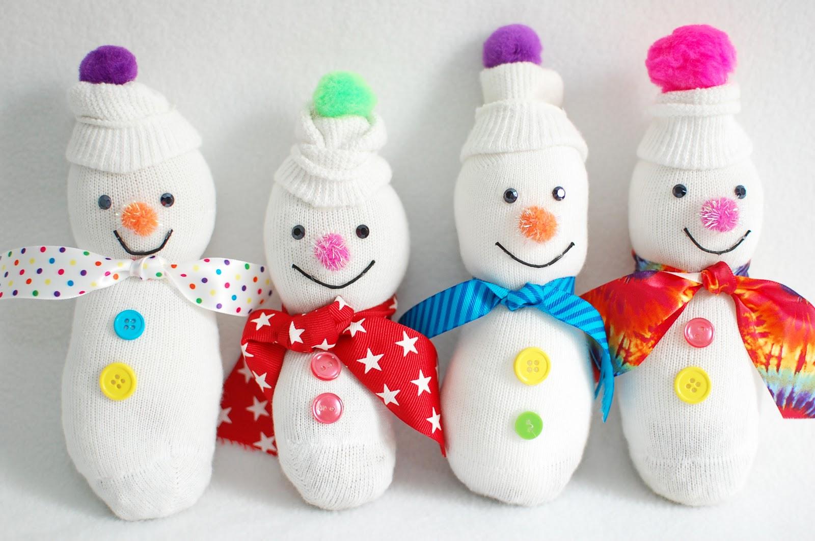 how to make a fake snowman
