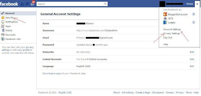 Tips To Avoid Hacking of Your Facebook Accounts