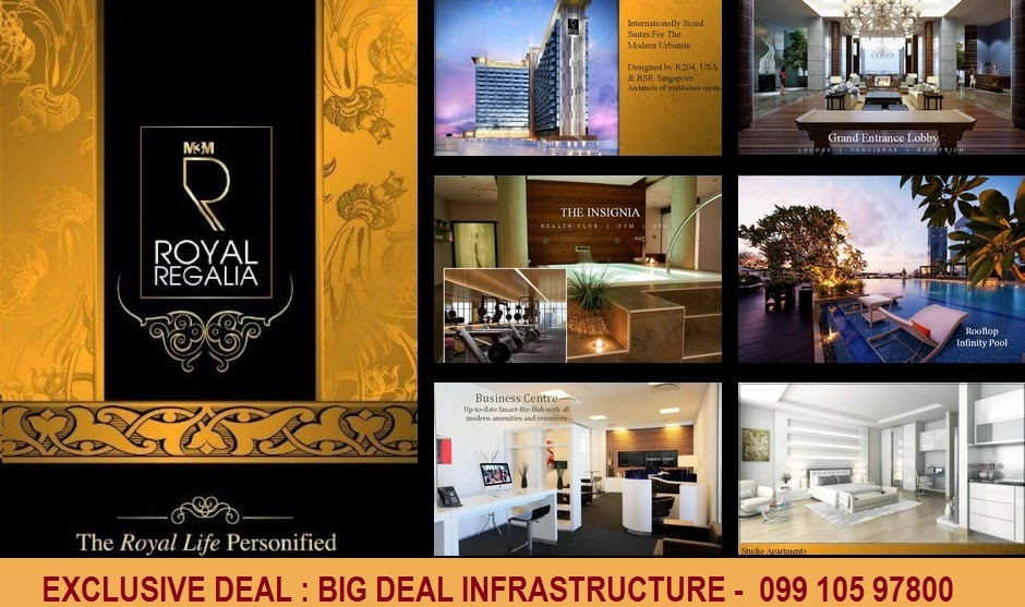m3m new launch, m3m royal regalia, royal regalia 5 start studio, m3m new launch on golf course extn. road, m3m urbana gurgaon, m3m super luxury service suits gurgaon