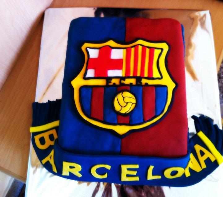Cake Design Barcelona : Fc Barcelona Cake Ideas and Designs
